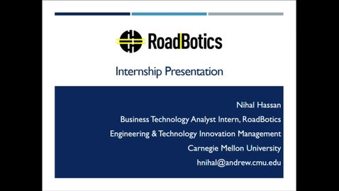 Thumbnail for entry Nihal Hassan_RoadBotics