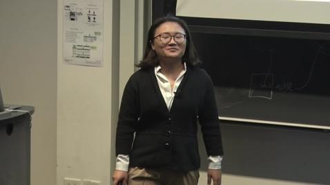 Thumbnail for entry E&TIM Seminar Internship Presentations - Zhao