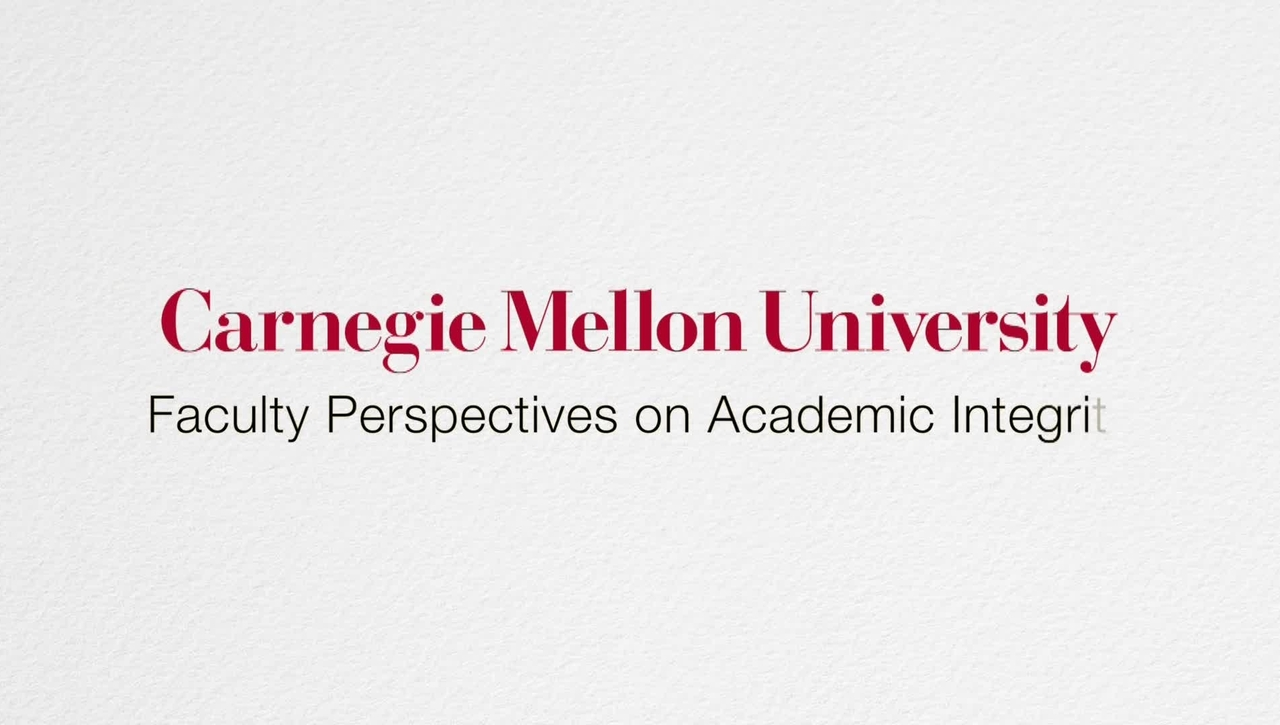 Faculty Perspectives on Academic Integrity