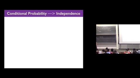 Thumbnail for entry Probability 3 - Independence