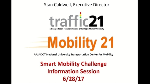 Thumbnail for entry Traffic 21_Smart Mobility Contest