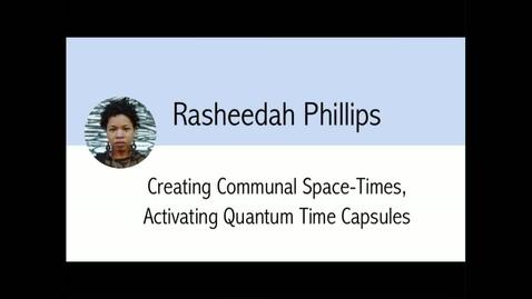 Thumbnail for entry Digital Library Federation - 10/23/17 - Rasheedah Phillips