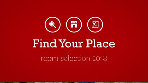 Thumbnail for entry Find Your Place 2018