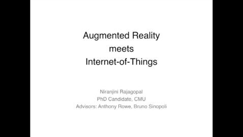 Thumbnail for entry Cylab Presentation - Rajagopal