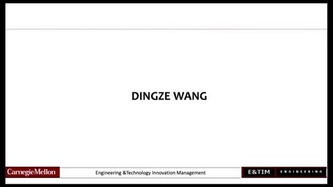 Thumbnail for entry E&TIM - Wang