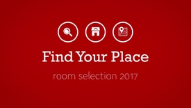 Thumbnail for entry Find Your Place: Room Selection 2017