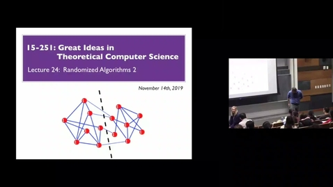 Thumbnail for entry Randomized Algorithms Lec 2 Part 1