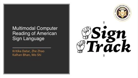 Thumbnail for entry E&TIM Seminar Internship Presentation - Sign Track