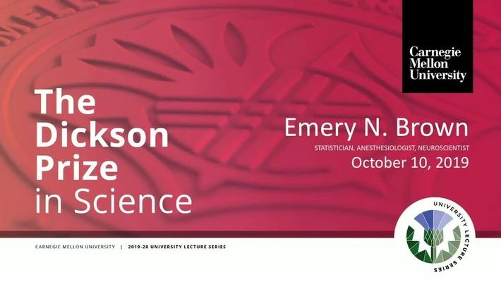 Dickson Prize in Science 2019