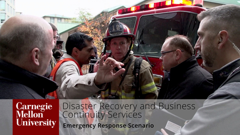 Thumbnail for entry Emergency Preparedness and Response Scenario