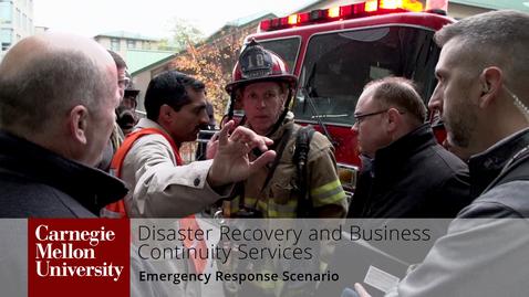 Thumbnail for entry Emergency Preparedness and Response Scenario