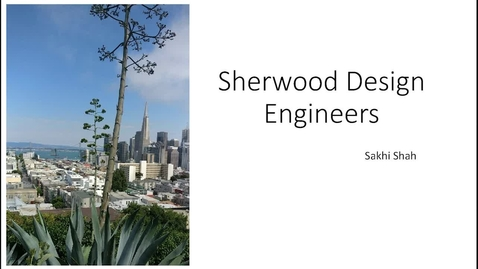 Thumbnail for entry Sakhi Shah_Sherwood Design Engineers