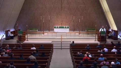 Thumbnail for entry Kramer Chapel Sermon - Friday, February 01, 2019