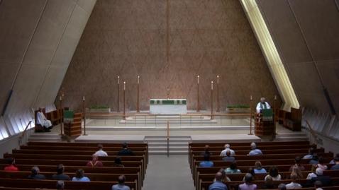 Thumbnail for entry Kramer Chapel Sermon - Thursday, July 12, 2018