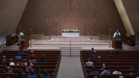 Thumbnail for entry Kramer Chapel Sermon - Monday, October 29, 2018