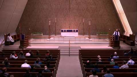 Thumbnail for entry Kramer Chapel Sermon - Thursday, March 21, 2019