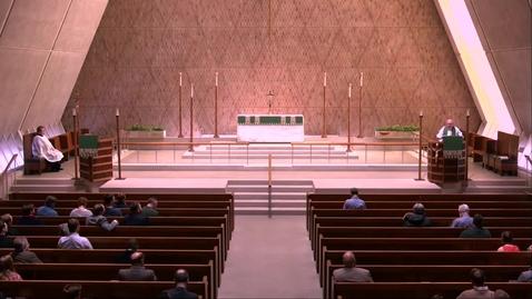 Thumbnail for entry Kramer Chapel Sermon - Thursday, February 21, 2019