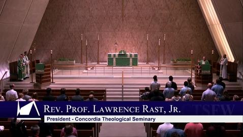 Thumbnail for entry Kramer Chapel Sermon - Wednesday, June 26, 2019
