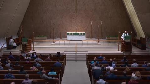 Thumbnail for entry Kramer Chapel Sermon - Thursday. October 11, 2018