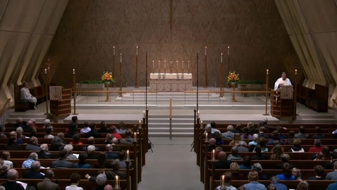 Thumbnail for entry All Saints' Choral Vespers - Sunday, November 04, 2018