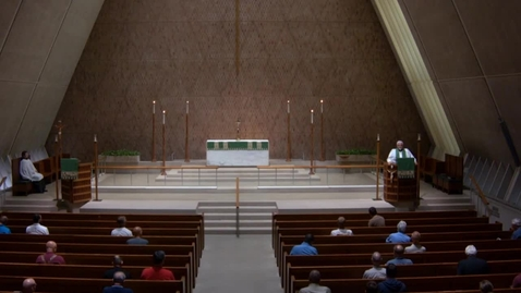 Thumbnail for entry Kramer Chapel Sermon - Thursday, July 26, 2018