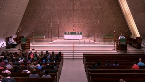 Thumbnail for entry Kramer Chapel Sermon - Friday, June 28, 2019