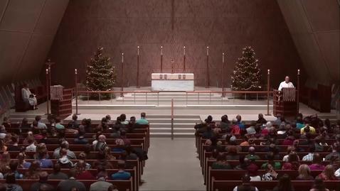 Thumbnail for entry Kramer Chapel Sermon - Friday, January 04, 2019