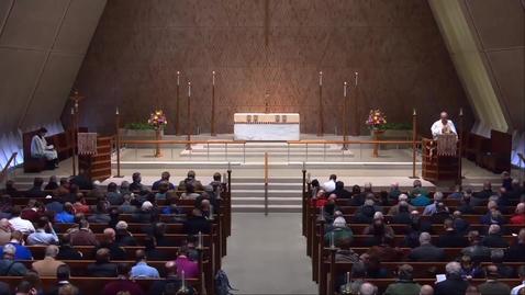 Thumbnail for entry Kramer Chapel Sermon - Tuesday, January 15, 2019