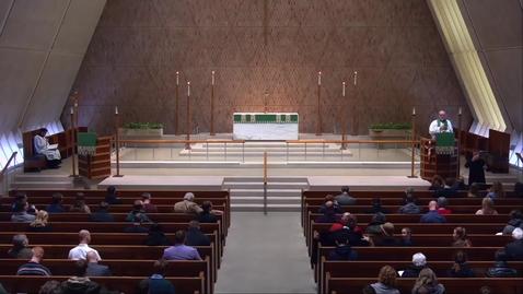 Thumbnail for entry Kramer Chapel Sermon - Tuesday, January 22, 2019