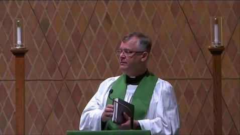 Thumbnail for entry Kramer Chapel Sermon - Friday, June 21, 2019
