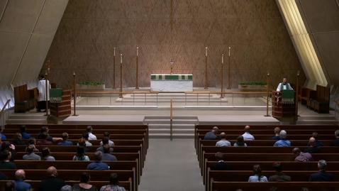Thumbnail for entry Kramer Chapel Sermon - Thursday. September 20, 2018