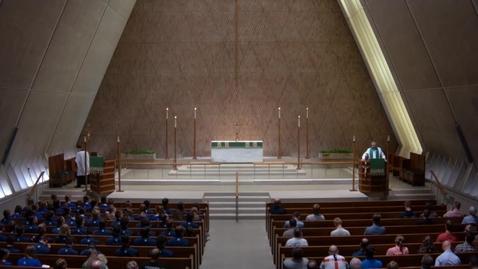 Thumbnail for entry Kramer Chapel Sermon - Monday, June 18, 2018