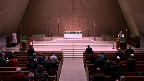 Thumbnail for entry 2019 Lenten Evening Prayer Service Sermon - Sunday, February 17, 2019