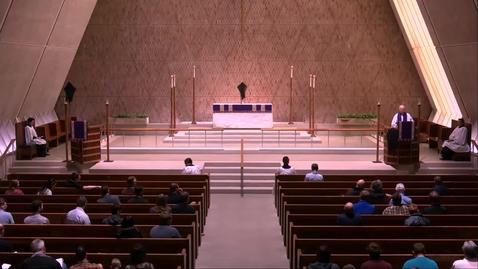 Thumbnail for entry Kramer Chapel Sermon - Tuesday, April 16, 2019