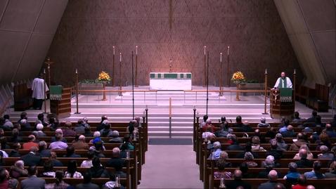 Thumbnail for entry Kramer Chapel Sermon - Monday, November 11, 2019