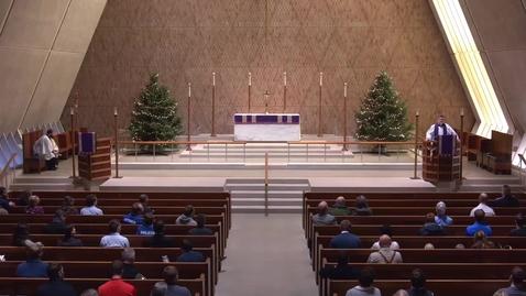 Thumbnail for entry Kramer Chapel Sermon - Friday, December 07, 2018