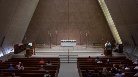 Thumbnail for entry Kramer Chapel Sermon - Thursday, July 19, 2018