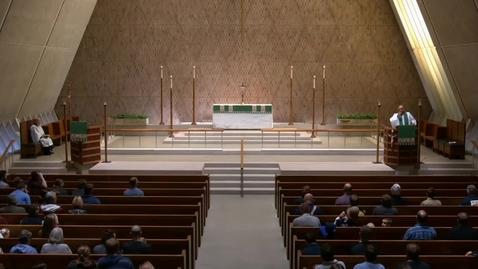 Thumbnail for entry Kramer Chapel Sermon - Friday, October 12, 2018