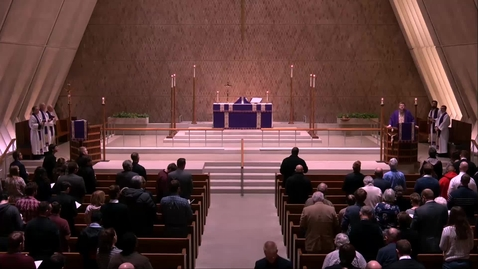 Thumbnail for entry Kramer Chapel Sermon - Wednesday, March 20, 2019