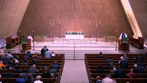 Thumbnail for entry Kramer Chapel Sermon - Tuesday, November 05, 2019