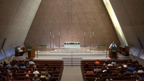 Thumbnail for entry Kramer Chapel Sermon - October 20, 2017