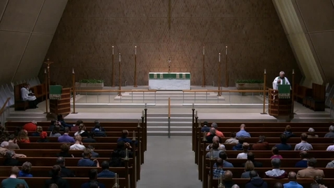 Thumbnail for entry Kramer Chapel Sermon - Friday, November 02, 2018