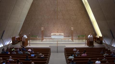 Thumbnail for entry Kramer Chapel Sermon - May 07, 2018
