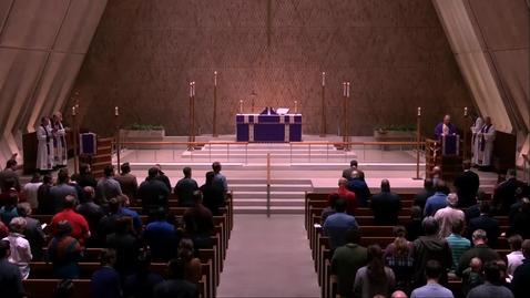 Thumbnail for entry Kramer Chapel Sermon - Wednesday, March 13, 2019