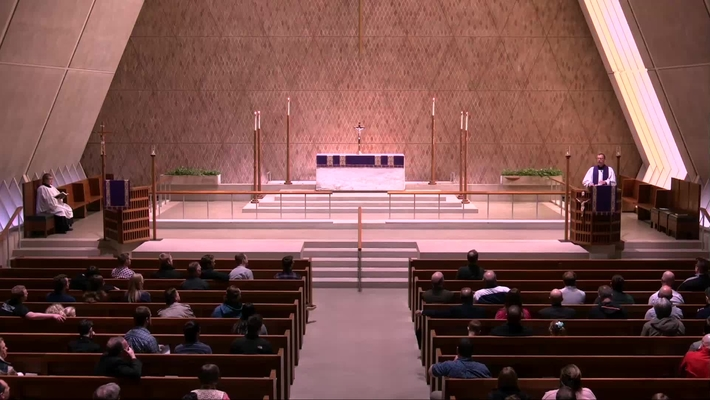 Kramer Chapel Sermon - Friday, April 05, 2019
