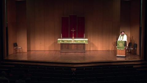 Thumbnail for entry Kramer Chapel Sermon - Tuesday, August 07, 2018