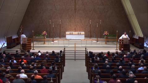 Thumbnail for entry Kramer Chapel Sermon - Thursday, January 17, 2019