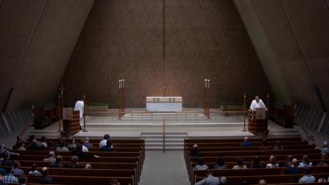 Thumbnail for entry Kramer Chapel Sermon - May 14, 2018