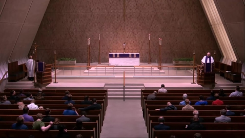 Thumbnail for entry Kramer Chapel Sermon - Friday, April 12, 2019