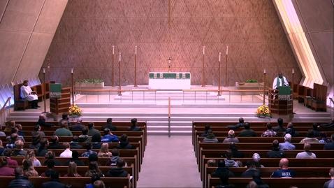 Thumbnail for entry Kramer Chapel Sermon - Friday, November 15, 2019